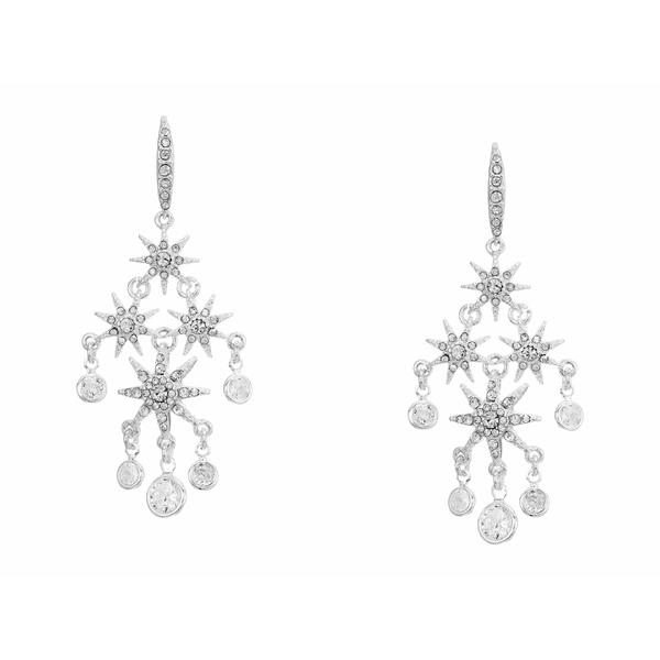ラルフローレン レディース ピアス&イヤリング アクセサリー Star Chandelier Earrings Silver