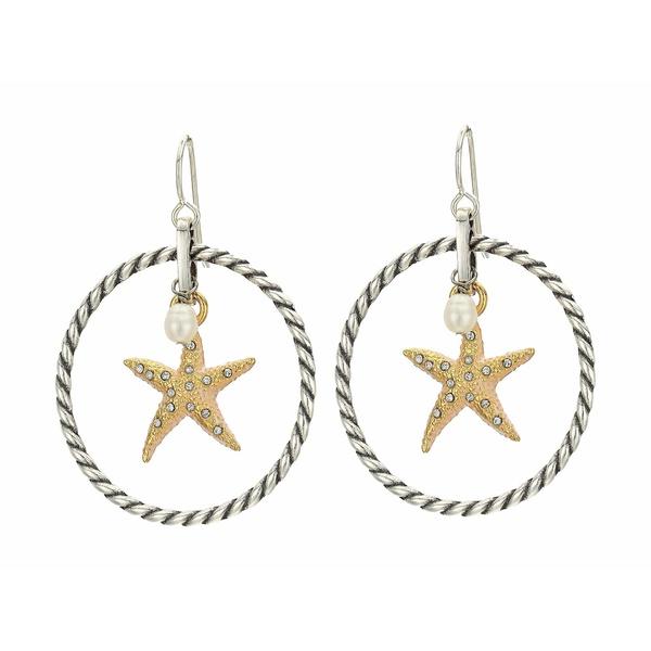 ブライトン レディース ピアス&イヤリング アクセサリー Under The Sea Starfish French Wire Earrings Two-Tone