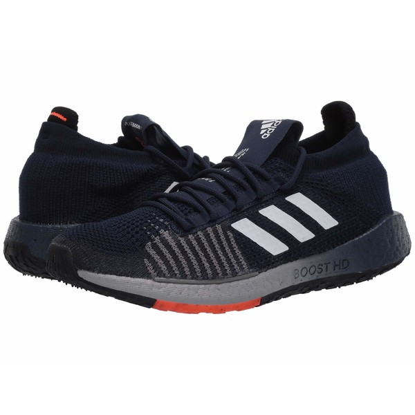 アディダス メンズ スニーカー シューズ PulseBOOST HD Collegiate Navy/Footwear White/Solar Red