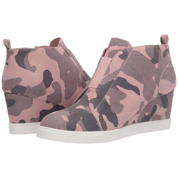 リネアパウロ レディース スニーカー シューズ Felicia Wedge Sneaker Blush Pink