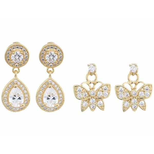 バネッサモーネイ レディース ピアス&イヤリング アクセサリー The Astra Earrings Set Gold