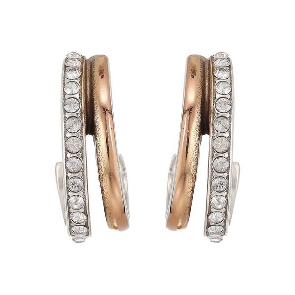 ブライトン レディース ピアス&イヤリング アクセサリー Neptune's Rings Post Earrings Silver/Gold