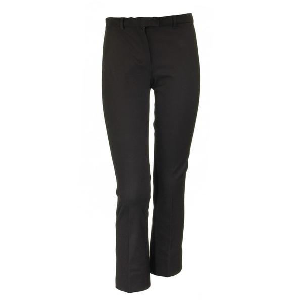 マックスマーラ レディース カジュアルパンツ ボトムス Slim-fit Max Mara Umanita Slim-fit Umanita Cropped Max Stretch-twill Trousers Black, リュウオウチョウ:f382dc7c --- officewill.xsrv.jp