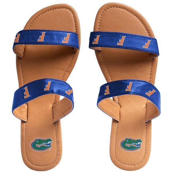 フォコ レディース サンダル シューズ Florida Gators Women's Double Strap Sandals