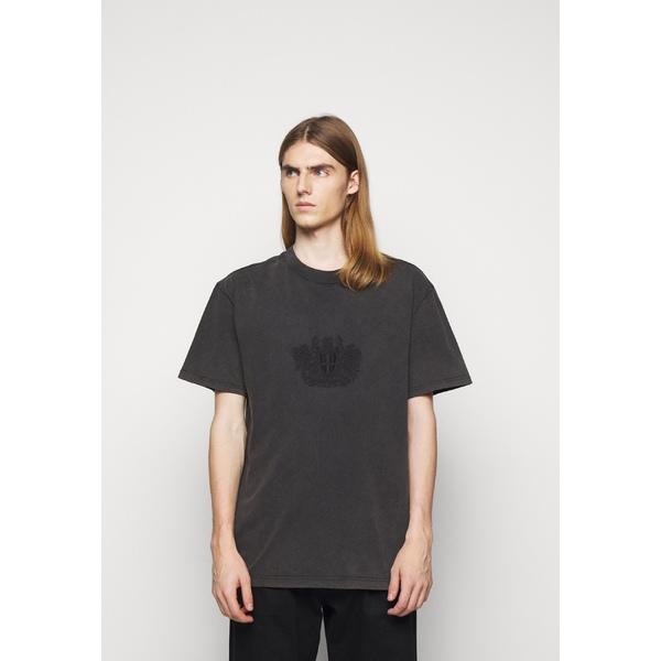 ハン コペンハーゲン メンズ トップス Tシャツ faded dark grey 別倉庫からの配送 BOXY - 超目玉 T-shirt TEE kxpd010c 全商品無料サイズ交換 Print