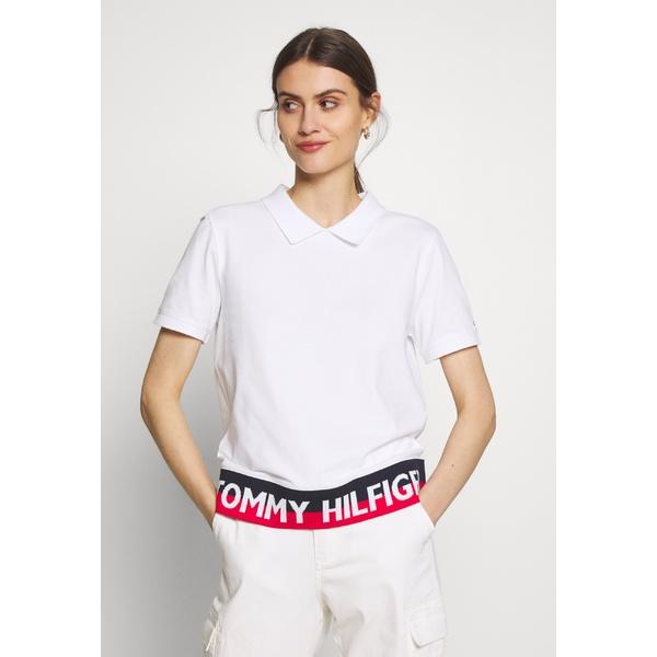 トミー ヒルフィガー レディース トップス ポロシャツ 定番の人気シリーズPOINT ポイント 入荷 white 全商品無料サイズ交換 Polo POLO KHLO - kxpd0114 新作からSALEアイテム等お得な商品満載 shirt