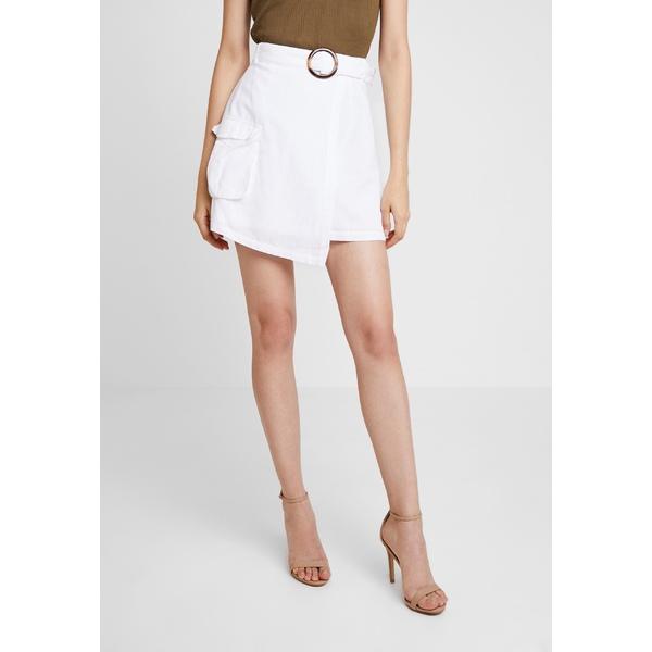 エヌ エー ケイ 国内在庫 ディ レディース ボトムス スカート 驚きの値段 white 全商品無料サイズ交換 skirt SKIRT OVERLAPPED JULIA kxpd0115 Wrap - ASYMMETRIC WIENIAWA
