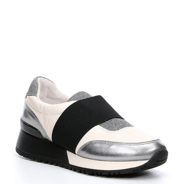 アントニオメラニー レディース スニーカー シューズ Airla Casual Slip On Sneakers Cloud White/Ceylon/Black