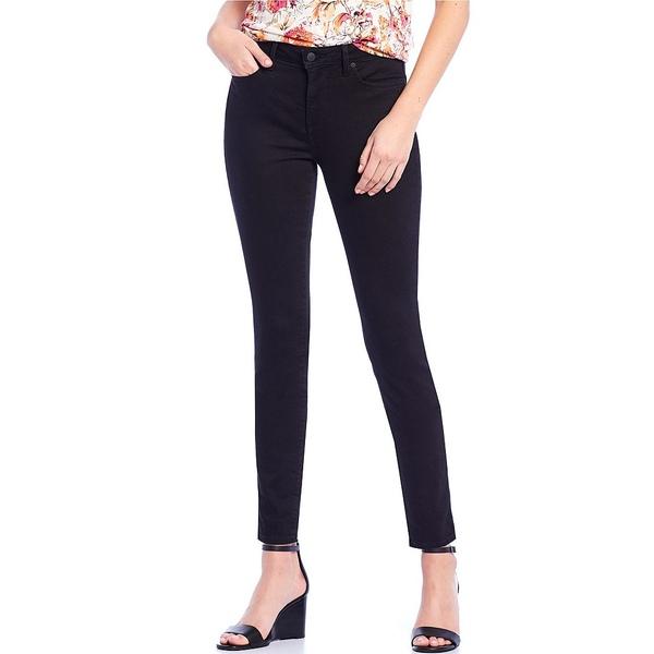 エヌワイディージェイ レディース デニムパンツ ボトムス Alina Skinny Legging Ankle Jeans Black