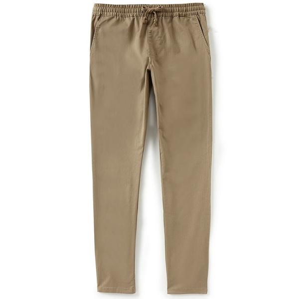 ルーカ メンズ カジュアルパンツ ボトムス A.T. Dayshift Elastic Wait Slim-Straight Fit Pants Wood