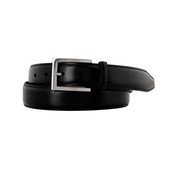 ジョンストンアンドマーフィー メンズ ベルト アクセサリー Dress Belt Black