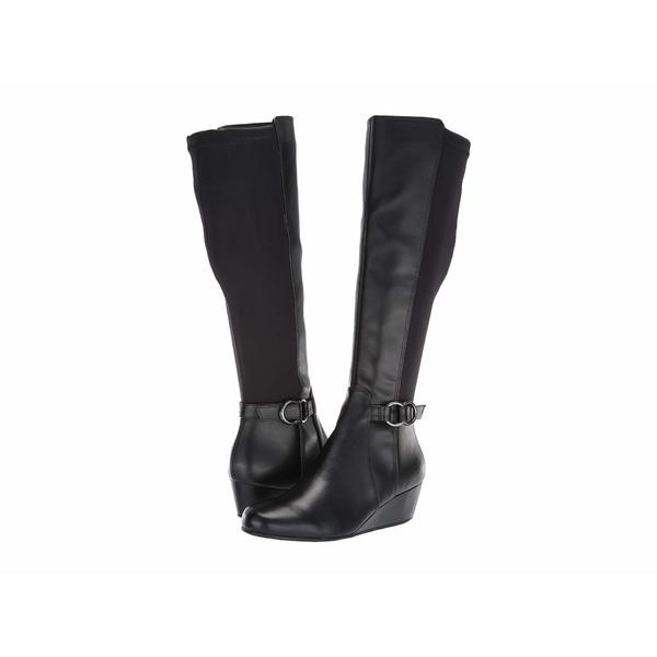 ケネスコール レディース ブーツ&レインブーツ シューズ Tip Dress Boot Black Smooth/Neoprene