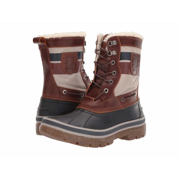 スペリー メンズ ブーツ&レインブーツ シューズ Ice Bay Tall Boot Brown/Nautical