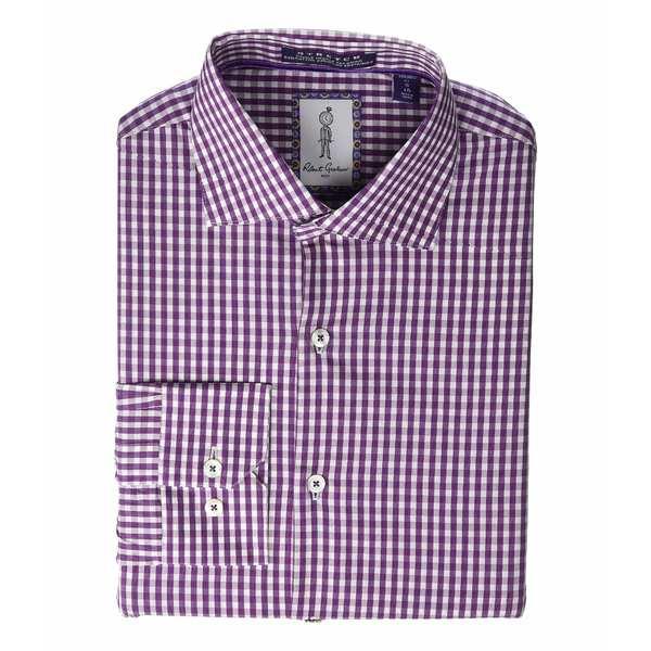 ロバートグラハム メンズ シャツ トップス Kenley Long Sleeve Dress Shirt Pink