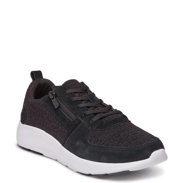 バイオニック レディース スニーカー シューズ Remi Side Zipper Sneakers Black