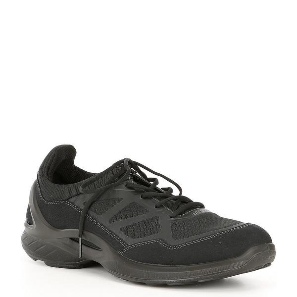 Sneakers シューズ Biom Men's Fjuel Black スニーカー メンズ Lace-Up エコー