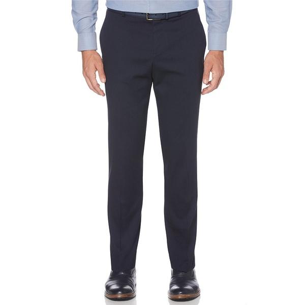 ペリーエリス メンズ カジュアルパンツ ボトムス Non-Iron Very Slim-Fit Solid Wrinkle Resistant Stretch Pants Dark Sapphire