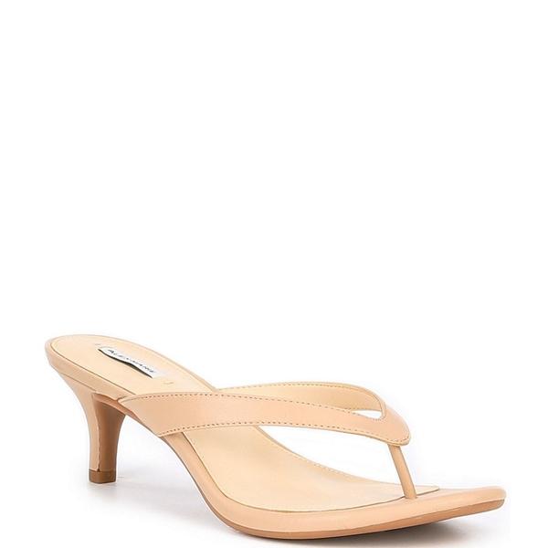 アレックスマリー レディース サンダル シューズ Naudia Leather Thong Sandals Spanish Sand