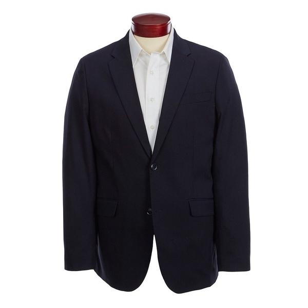 ペリーエリス メンズ ジャケット&ブルゾン アウター Slim-Fit Wrinkle-Resistant Jacket Dark Sapphire
