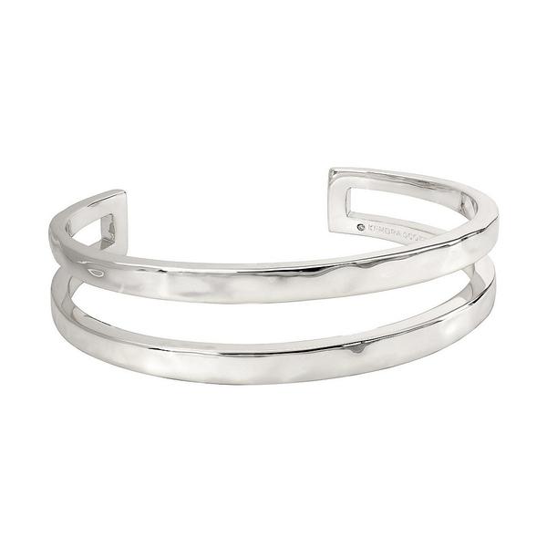 ケンドラスコット メンズ ブレスレット・バングル・アンクレット アクセサリー Zorte Cuff Bracelet Rhodium Plated