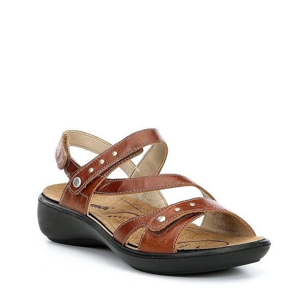 ロミカ レディース サンダル シューズ Ibiza 70 Studded Detail Sandals Brandy
