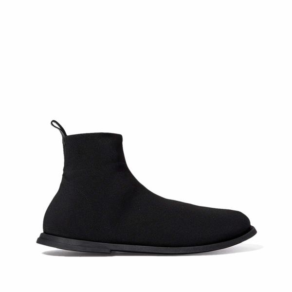 マルセル メンズ ブーツ&レインブーツ シューズ Gomme Full Elastic Boot Black