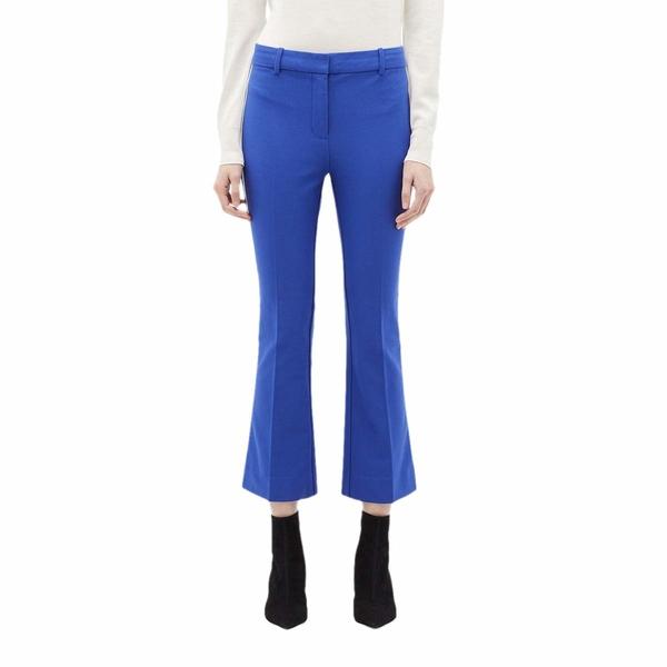 デレクラムテンクロスバイ レディース カジュアルパンツ ボトムス Corinna Tuxedo Stripe Cropped Flare Trousers Ultraviolet