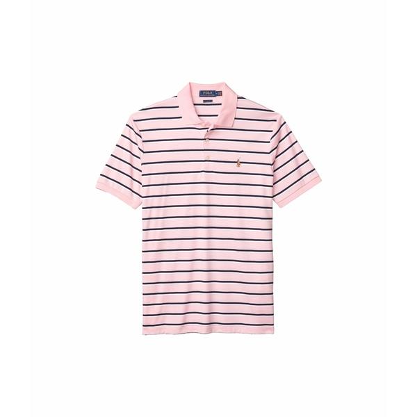 ラルフローレン メンズ シャツ トップス Classic Fit Soft Cotton Polo Rose Multi