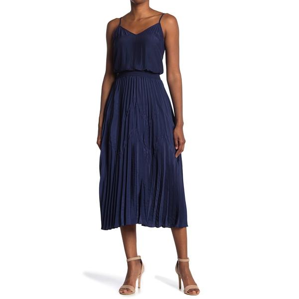 素晴らしい レイミー ブルック NAVY Crinkle Dress レディース ワンピース トップス Joanna Crinkle Smocked Maxi Dress SPRING NAVY, お菓子な工房 もえぎ:32c96520 --- independentescortsdelhi.in