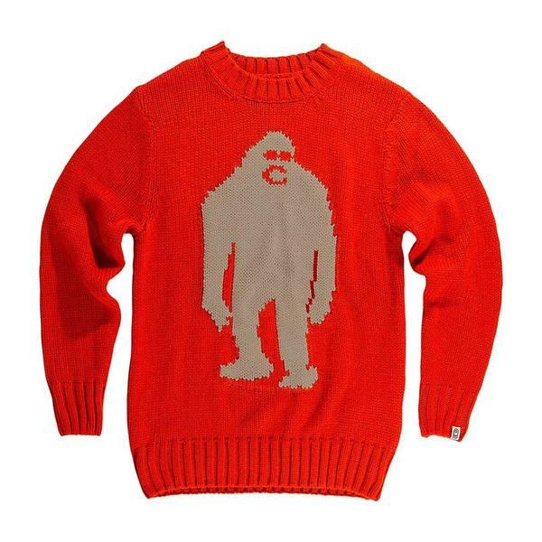 エアブラスター メンズ アウター ニットセーター Red Sweater 2020春夏新作 本日限定 全商品無料サイズ交換 Airblaster Sassy
