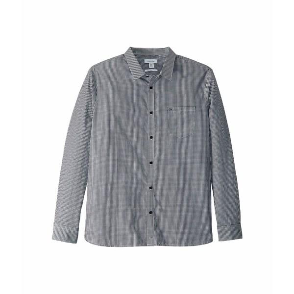 カルバンクライン メンズ シャツ トップス The Extra-Fine Cotton Shirt Black