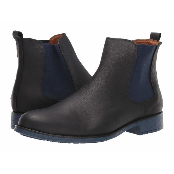マッシモマッテエロ メンズ ブーツ&レインブーツ シューズ Chelsea PT Boot Black/Azul