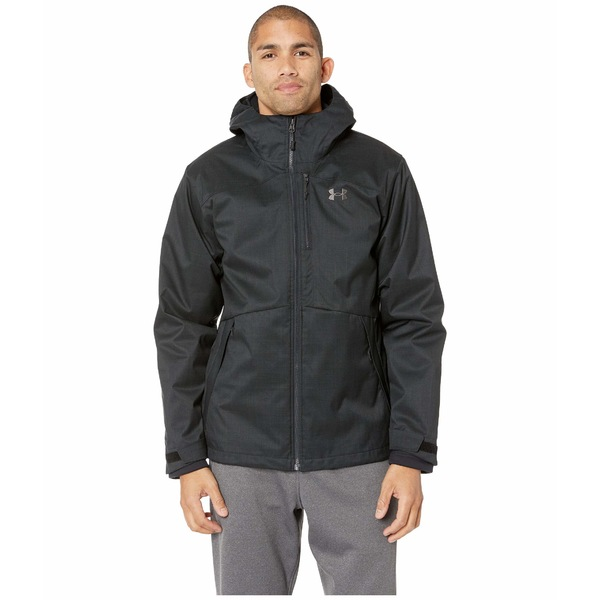 アンダーアーマー メンズ コート アウター UA Porter 3-in-1 Jacket Black/Black/Charcoal