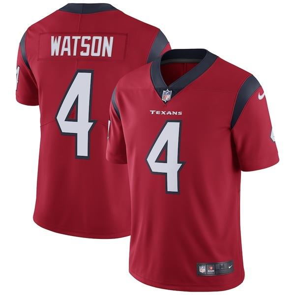 ナイキ メンズ シャツ トップス Deshaun Watson Houston Texans Nike Vapor Untouchable Limited Jersey Red
