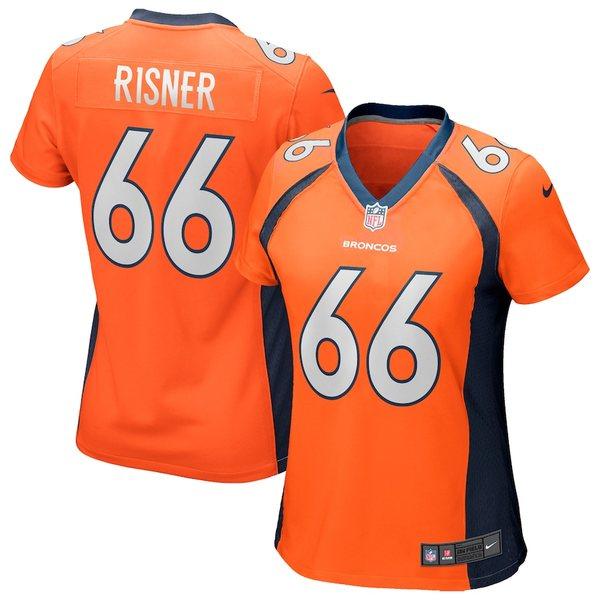 ナイキ レディース シャツ トップス Dalton Risner Denver Broncos Nike Women's Game Jersey Orange