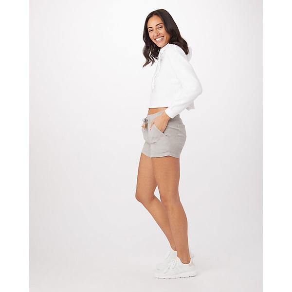 テンツリー レディース カジュアルパンツ ボトムス Tentree Women's Instow Short Hi Rise Grey