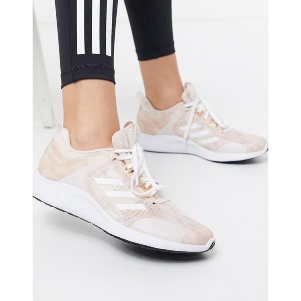 アディダス レディース スニーカー シューズ adidas Running edge bounce sneakers in pink Pink