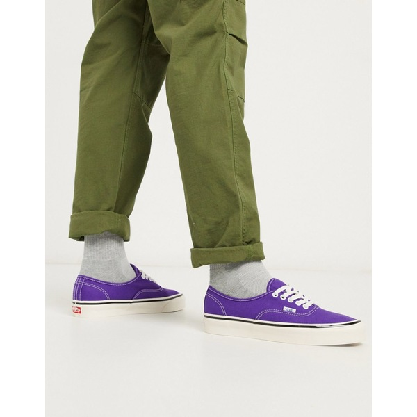 バンズ メンズ スニーカー シューズ Vans Anaheim Authentic 44 DX sneaker in bright purple Anaheim factory og b