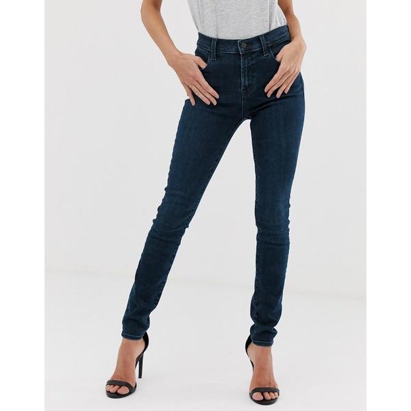 ジェイブランド レディース デニムパンツ ボトムス J Brand Maria high rise skinny jeans Phased
