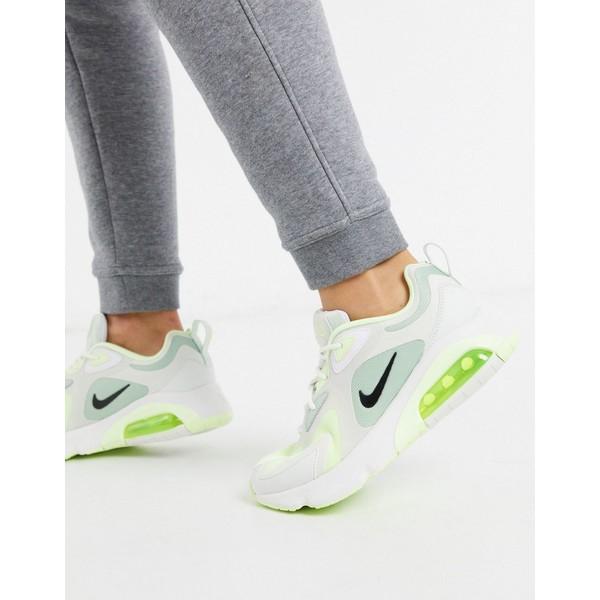 ナイキ レディース スニーカー シューズ Nike Air Max 200 green sneakers Green