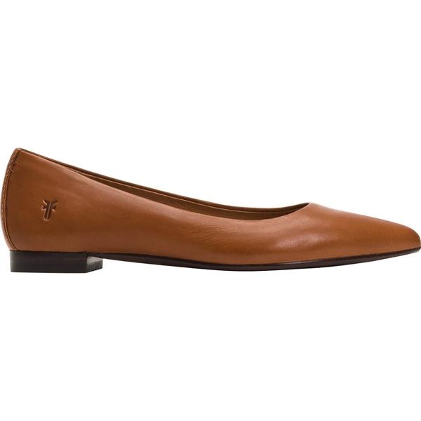 フライ レディース スニーカー シューズ Sienna Ballet Flat Shoe - Women's Saddle/Polished Soft Full Grain