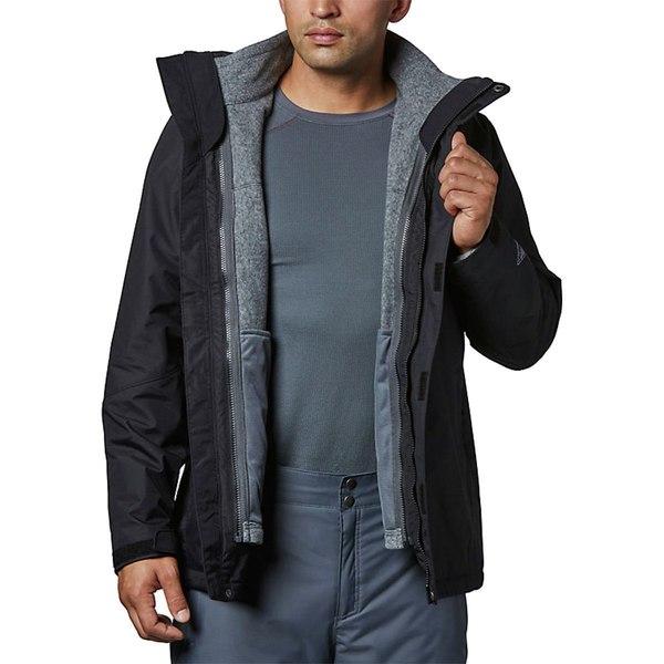 コロンビア メンズ ジャケット&ブルゾン アウター Bugaboo II Interchange Jacket - Men's Black