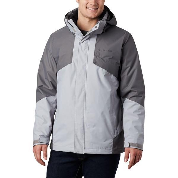 コロンビア メンズ ジャケット&ブルゾン アウター Bugaboo II Interchange Jacket - Men's Columbia Grey/City Grey