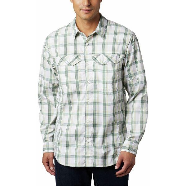 コロンビア メンズ シャツ トップス Silver Ridge Lite Plaid Long-Sleeve Shirt - Men's Cane Grid Plaid