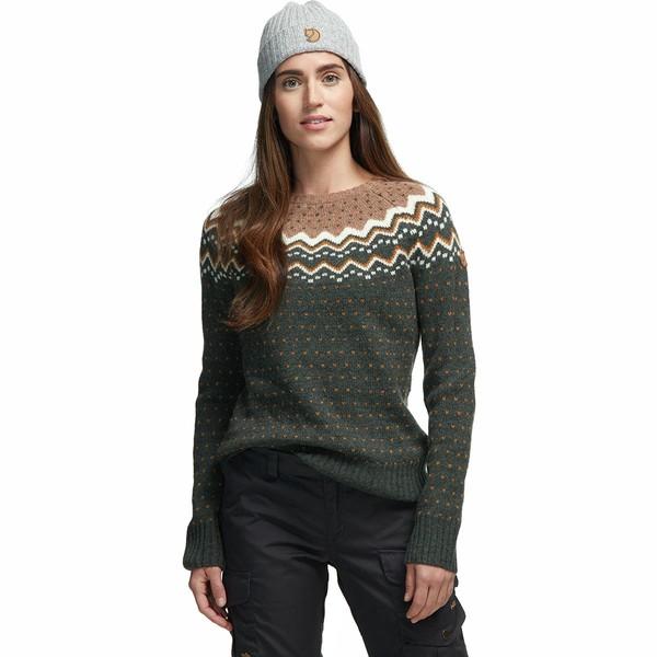 フェールラーベン レディース ニット&セーター アウター Ovik Knit Sweater - Women's Deep Forest