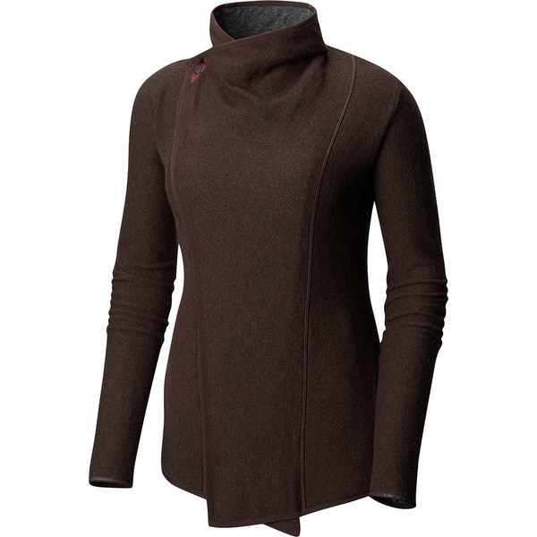 マウンテンハードウェア レディース ニット&セーター アウター Sarafin Wrap Sweater - Women's Woodsmoke