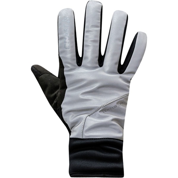 クラフト メンズ サイクリング スポーツ Siberian Glow Glove - Men's Silver/Black