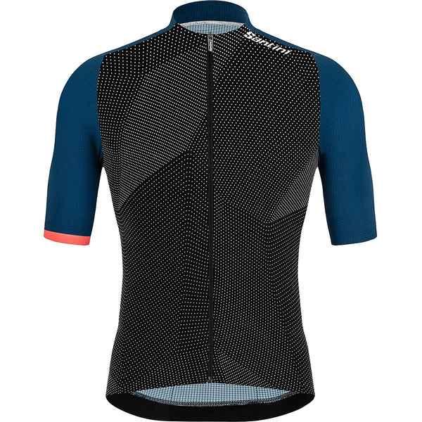 サンティーニ メンズ スポーツ サイクリング Space ランキング総合1位 Blue - 大放出セール Men's Jersey 全商品無料サイズ交換 Genio Redux
