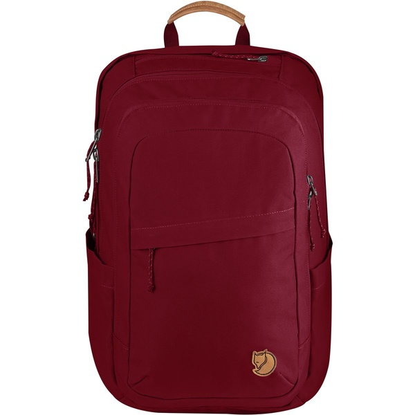 フェールラーベン メンズ バックパック・リュックサック バッグ Raven 28L Backpack Redwood