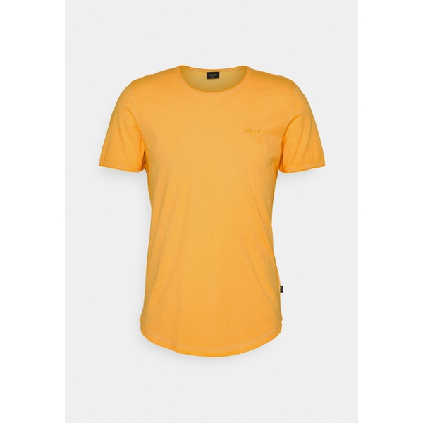 ジョープ ジーンズ メンズ トップス Tシャツ bright ファクトリーアウトレット yellow - CLARK lexn01f4 T-shirt 迅速な対応で商品をお届け致します Basic 全商品無料サイズ交換